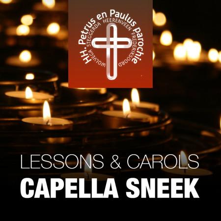 Lesson & Carols banner
